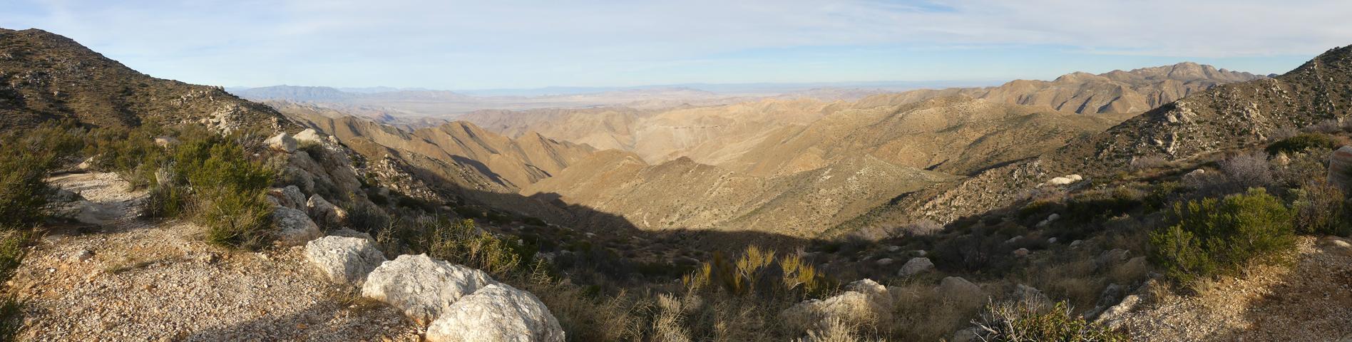 Sacatone Overlook Panorama
