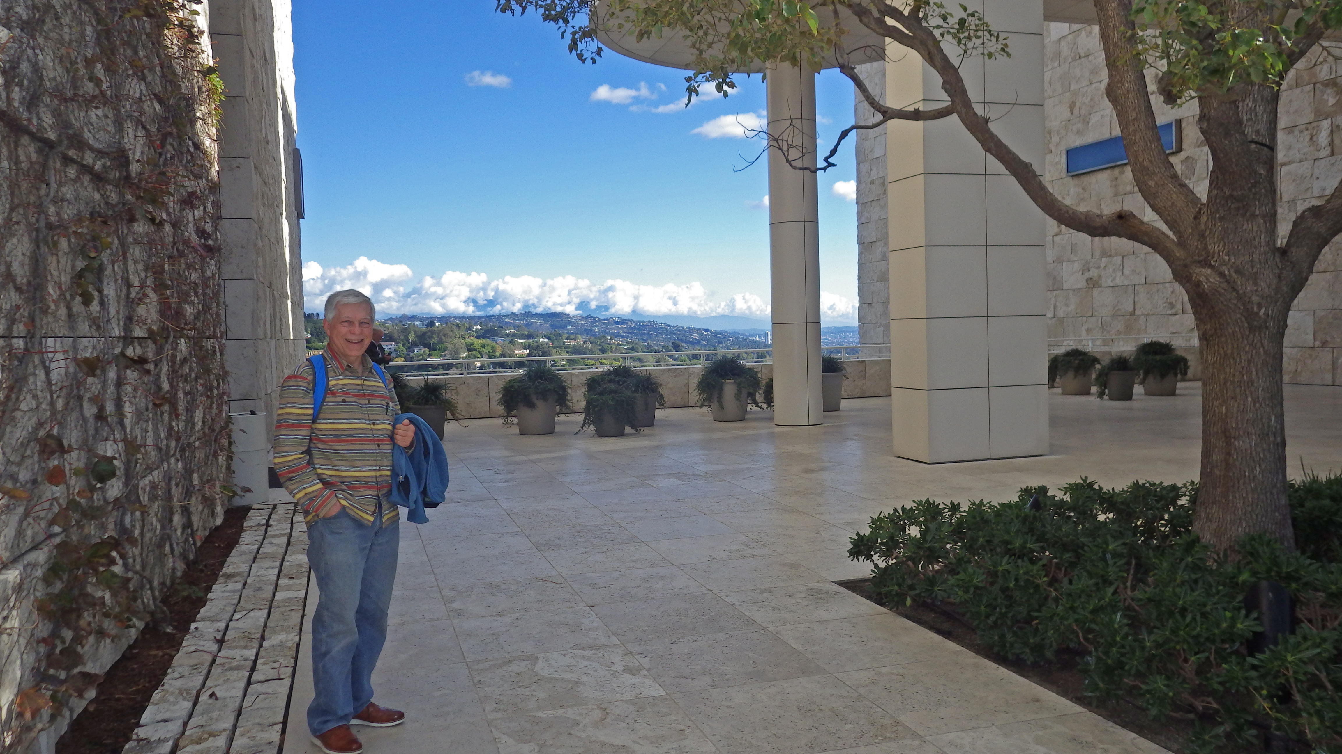 Dennis at the Getty