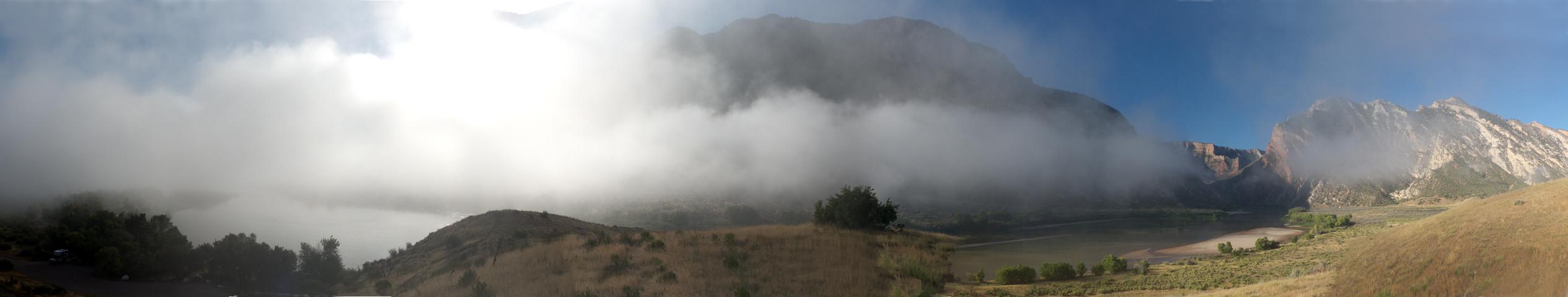 Fog at Rainbow Park
