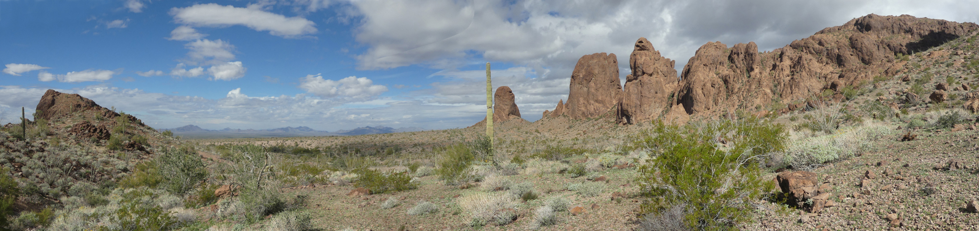 Kofa Queen Canyon Panorama