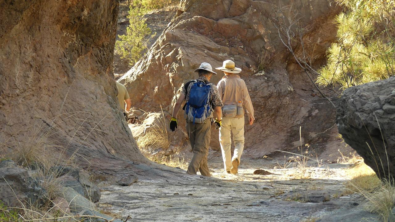 Webb Gulch slot canyon