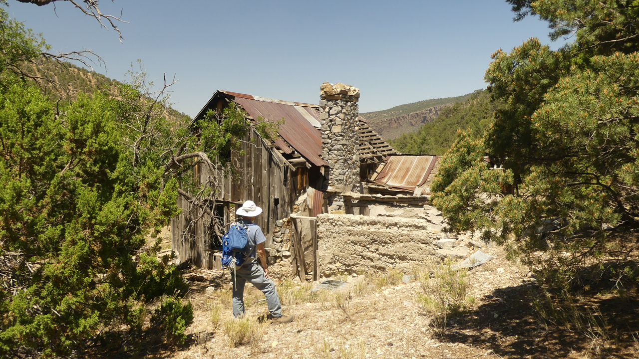 Ruins of an old ranch