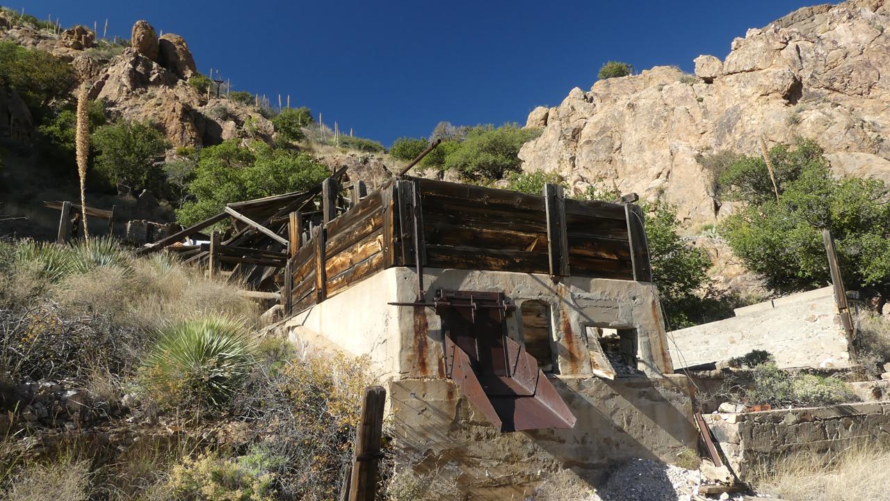 mill at Atir Mine