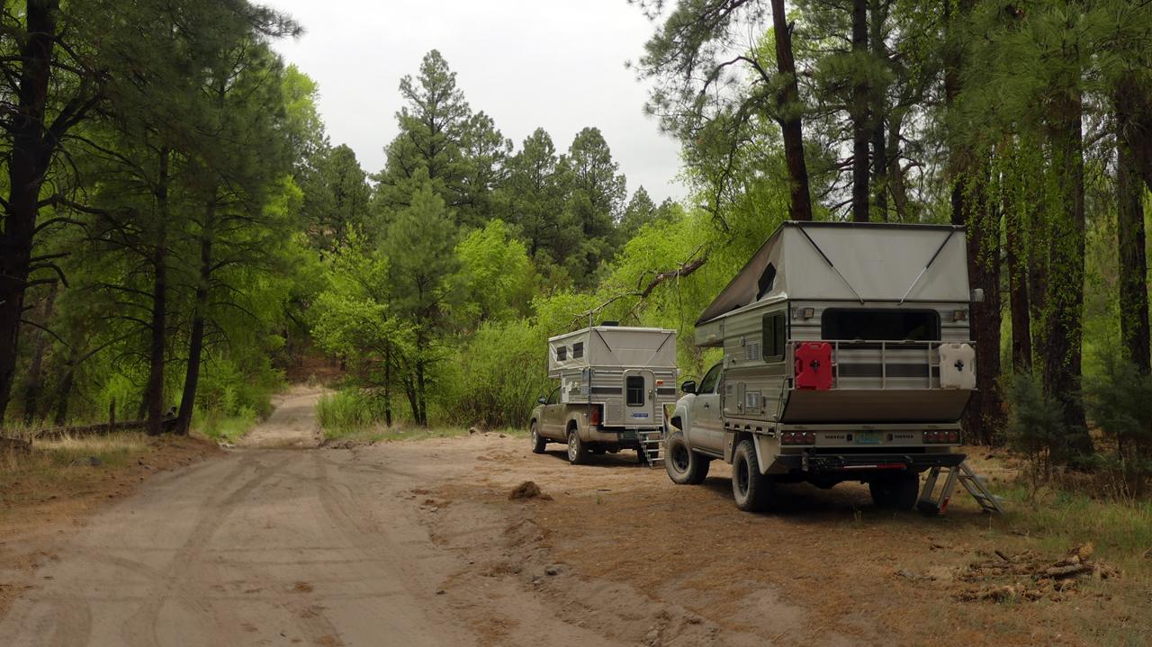 Mimbres River campsite