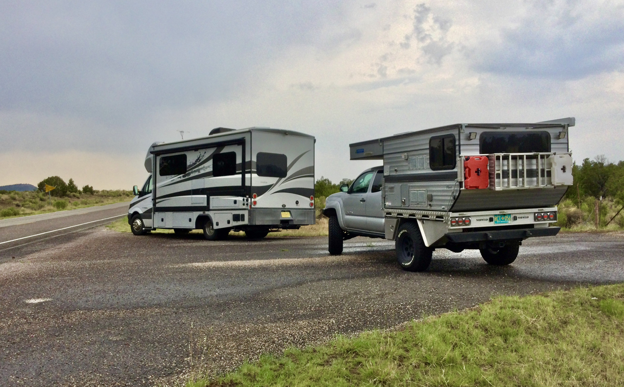 two campers