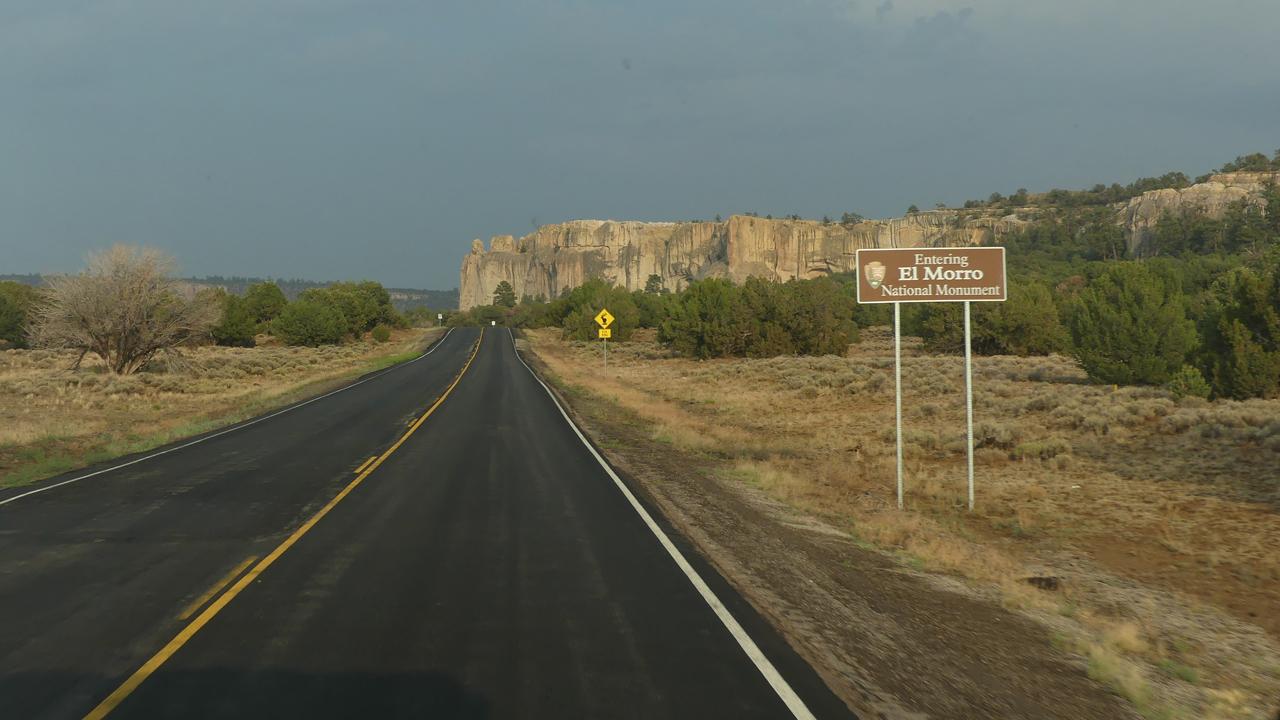 approaching El Morro