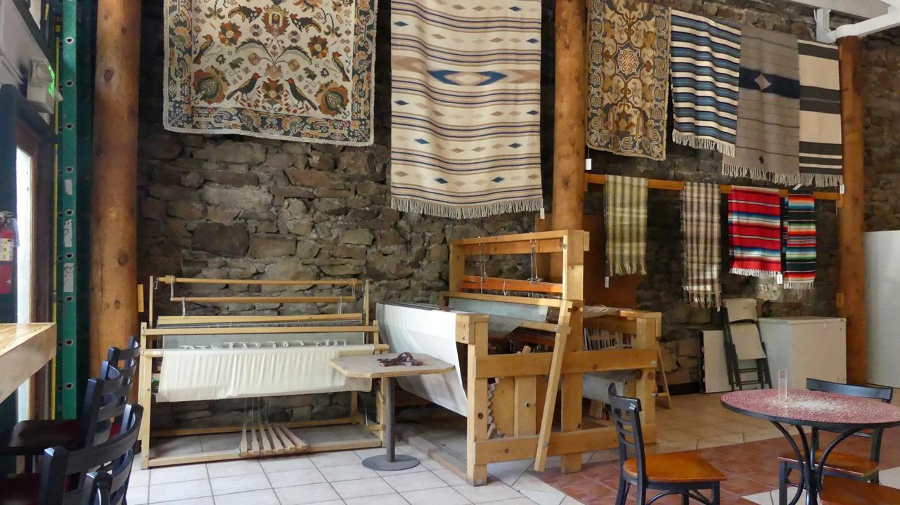 Travelers Cafe interior