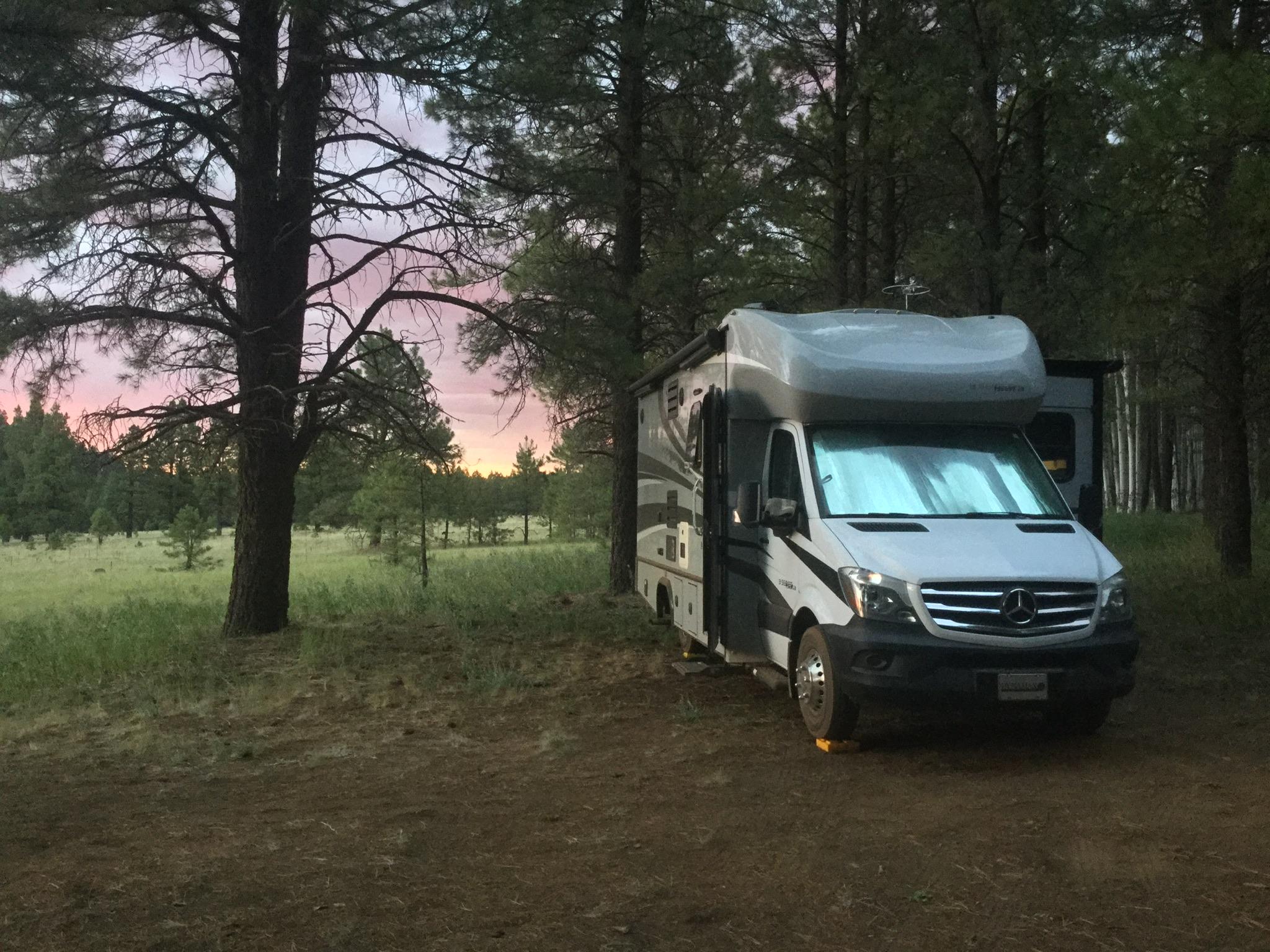 new campsite