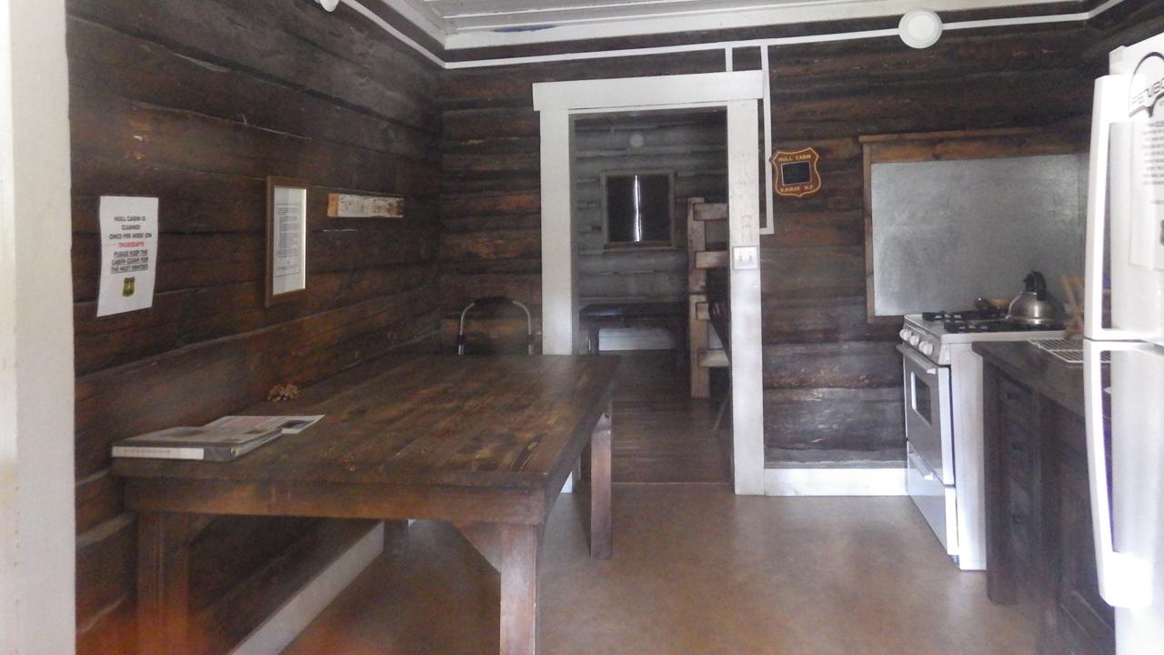 Hull Cabin interior