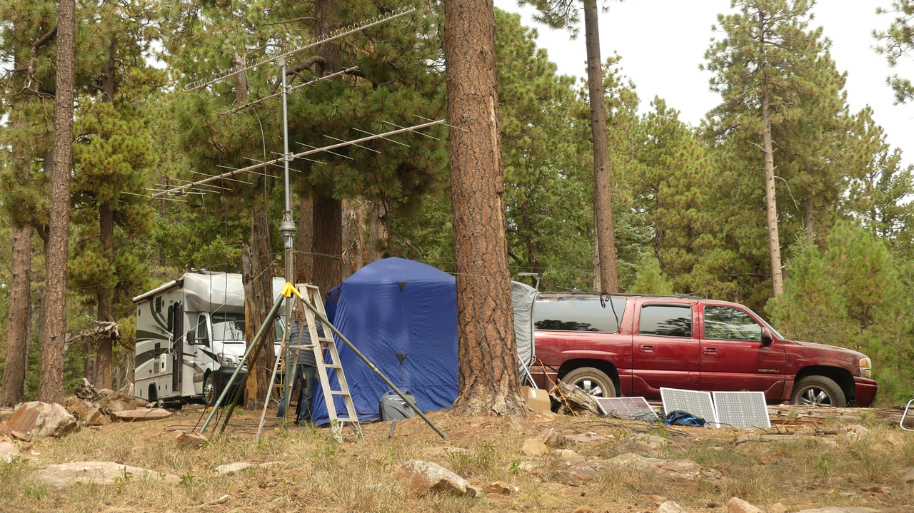 camping on the Rim