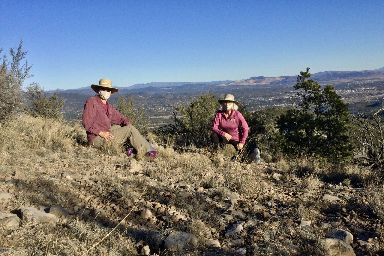 view from McComas Peak